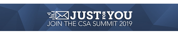 Postmastery Events: CSA summit 2019